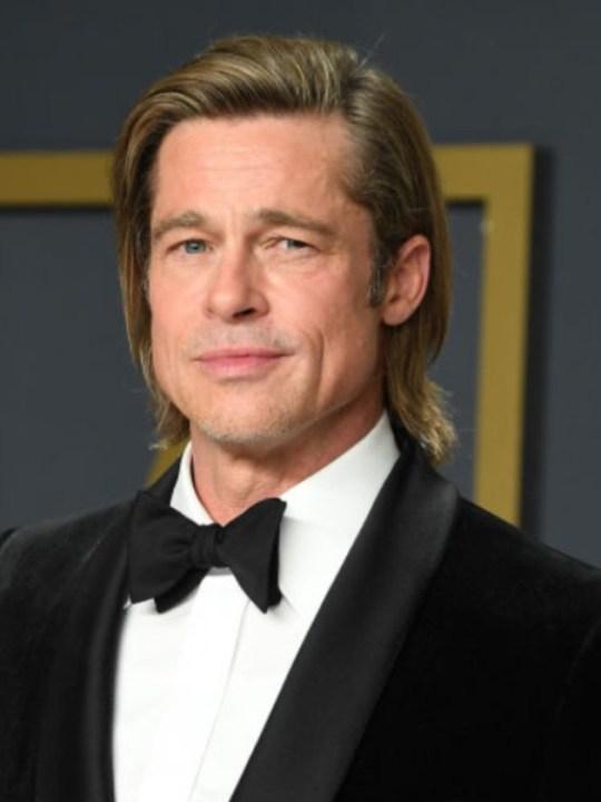 Brad Pitt on red carpet