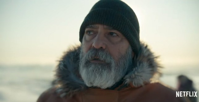 Picture: Netflix New trailer for The Midnight sky starring a ruggedly beardy George Clooney looks brilliant