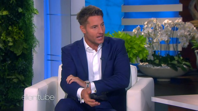 This Is Us star Justin Hartley tore bicep off while working out