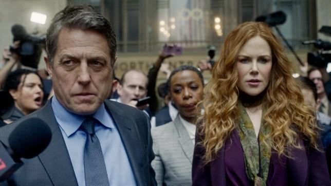 Hugh Grant and Nicole Kidman in The Undoing