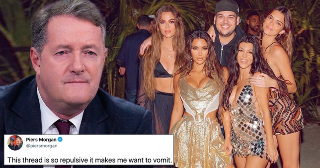 Piers Morgan calls Kim K a 'spoiled, tone-deaf imbecile' as he joins stars laying into her over birthday post