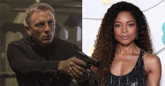 James Bond No Time To Die - Daniel Craig and Naomie Harris