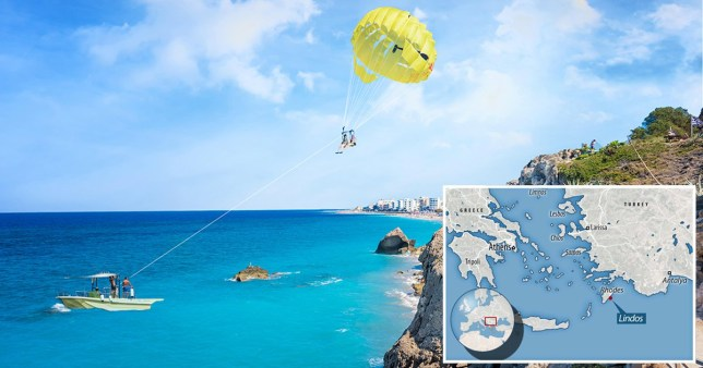 Two British teenagers die and one injured parasailing in Rhodes