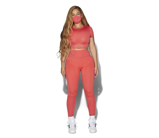 Take a look at the latest Ivy Park collection modelled by Beyonce herself Picture: Adidas