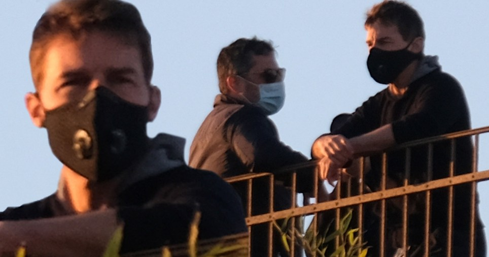 Mission Impossible filming stopped after 12 people test positive for covid-19 ?200 set