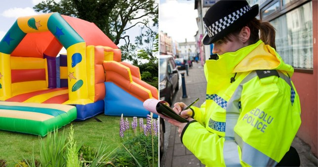 A man who travelled nearly 50 miles to buy a bouncy castle has been ordered to pay more than £800 after his journey was deemed non-essential