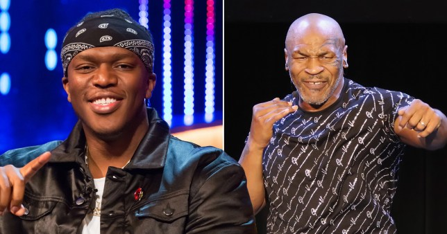 KSI made a big mistake challenging Mike Tyson to boxing match (Picture: Getty, Rex)
