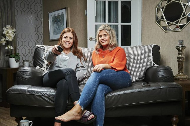Abby and Georgia from Gogglebox