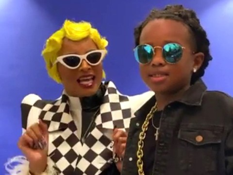 Ciara and son Future dress up as Cardi B and Offset for Halloween and we're not worthy