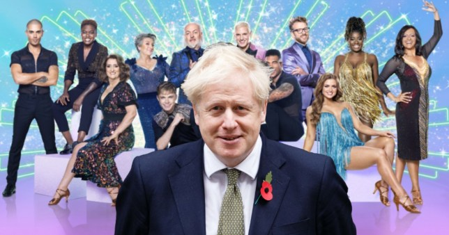 Strictly 2020 cuts off Boris Johnson after Covid-19 update delayed for 3 hours(prepped) Getty/BBC