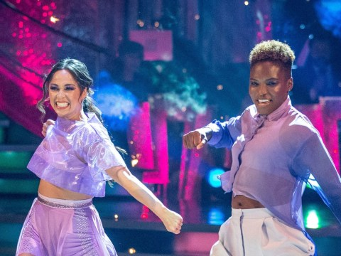 Strictly Come Dancing's Claudia Winkleman leads stars reacting to Nicola and Katya's exit