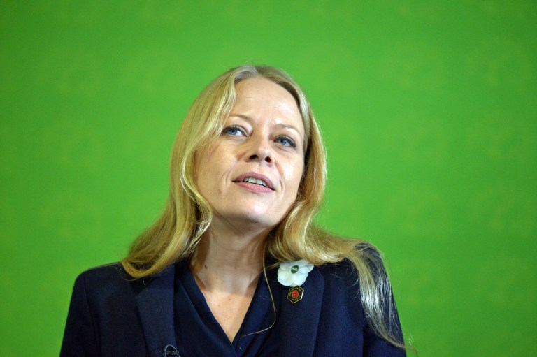Green Party Co-Leader, Sian Berry, at the launch of the party's general election manifesto in Bristol. PA Photo. Picture date: Wednesday November 6, 2019. See PA story POLITICS Elections Green. Photo credit should read: Ben Birchall/PA Wire