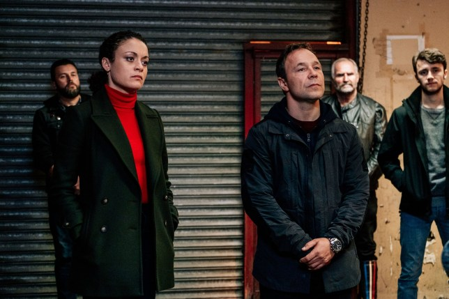 Programme Name: Line of Duty - Series 5 - TX: n/a - Episode: Line of Duty S5 - Early Release (No. n/a) - Picture Shows: McQueen (ROCHENDA SANDALL), Corbett (STEPHEN GRAHAM) - (C) World Productions - Photographer: Aiden Monaghan