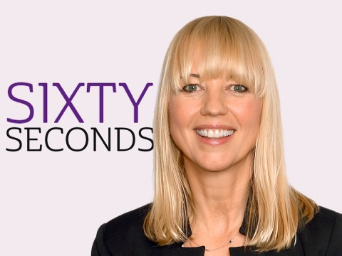 Sixty Seconds: Sara Cox on her new book-based TV series – and why she's not upset she didn't get Zoe Ball's breakfast show