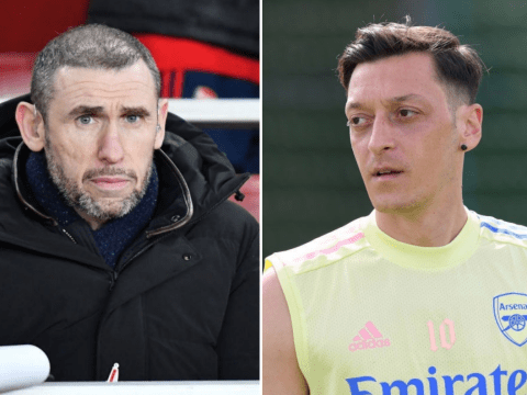 'Go quietly' – Martin Keown sends message to Mesut Ozil after Europa League snub