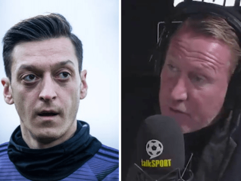 'It's a very good PR stunt' – Ray Parlour aims dig at Arsenal's Mesut Ozil over Gunnersaurus pay gesture