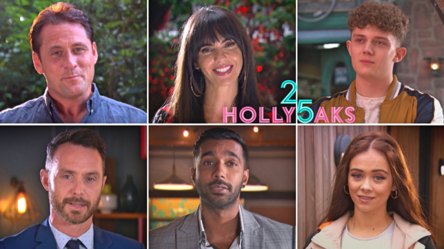 Tony, Mercedes, Tom, James, Sami and Juliet in Hollyoaks