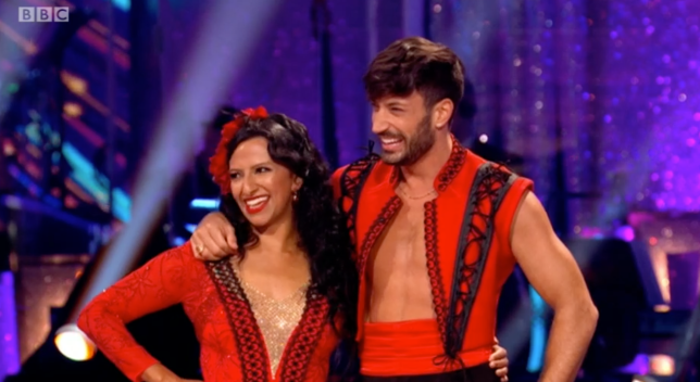 Ranvir Singh Strictly Come Dancing Giovanni Pernice