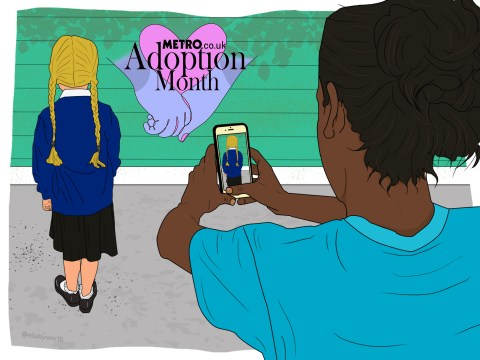 What are the rules around social media and adopted children?