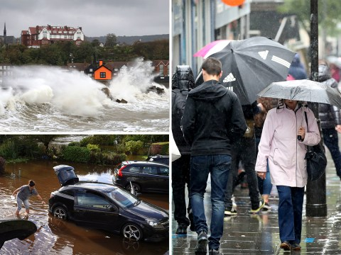 UK set for week-long washout after Storm Alex battered country with flash floods