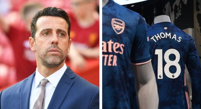 Edu oversaw Arsenal's transfer move for Thomas Partey