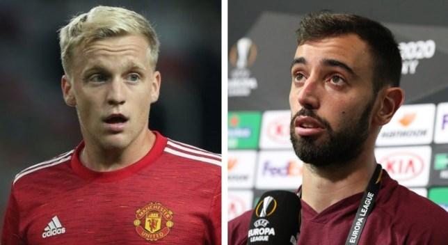 Bruno Fernandes had discussed Donny van de Beek's start at Manchester United