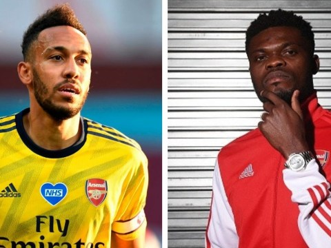 Pierre-Emerick Aubameyang hails Thomas Partey and says deadline-day signing will be 'very important' for Arsenal