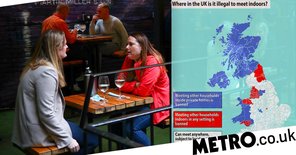 Where Can You Meet Friends In The Pub Or At Home The Uk Lockdown Rules Explained Metro News