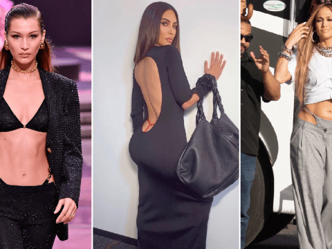 The visible thong trend is back whether we like it or not