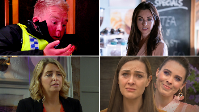 Craig in Coronation Street, Ruby in EastEnders, Charity in Emmerdale and Sienna and Liberty in Hollyoaks
