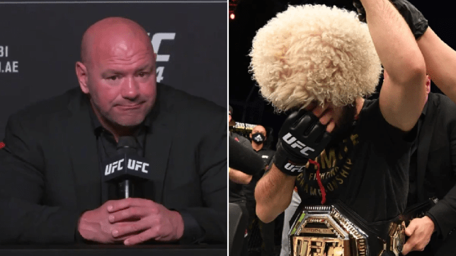 Dana White reacts to Khabib Nurmagomedov retirement as Jon Jones gives him pound-for-pound crown