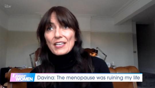 Davina McCall on Loose Women