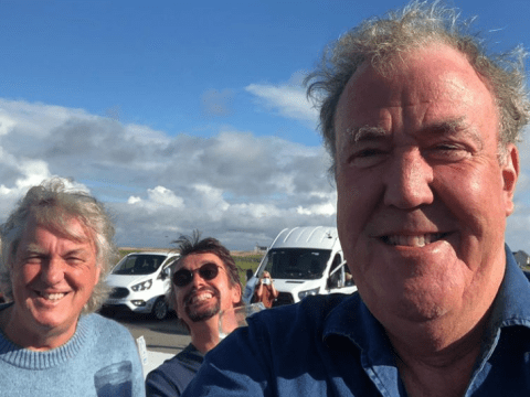 Jeremy Clarkson is not a fan of his The Grand Tour bubble