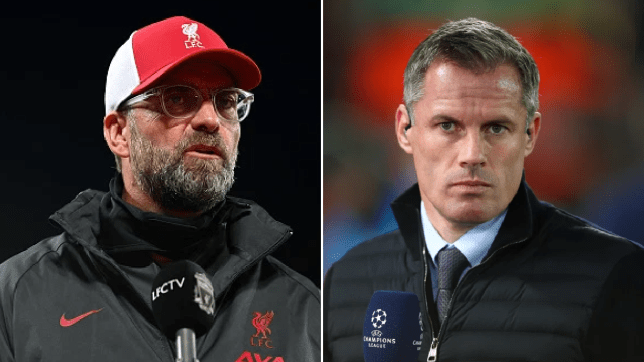 Liverpool boss Jurgen Klopp takes swipe at Jamie Carragher after Dayot Upamecano comments
