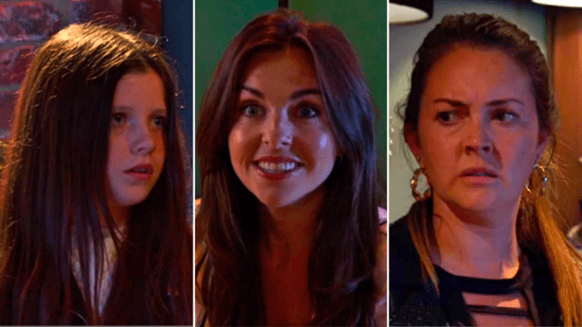 Lily, Ruby and Stacey in EastEnders
