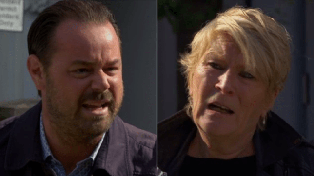 Mick and Shirley in EastEnders