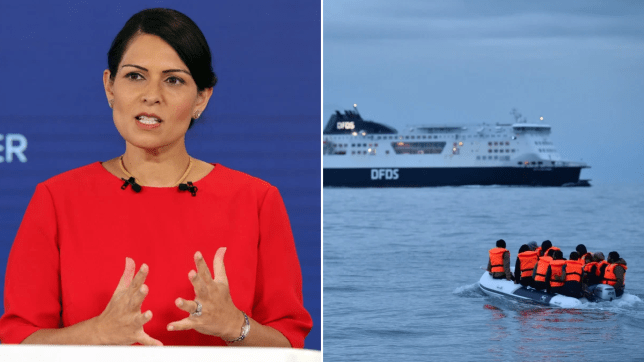 Migrants WILL be held on Ferries off the British coast
