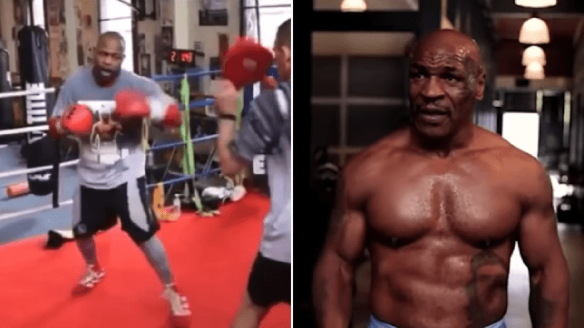mike tyson in superb shape roy jones jr releases scary training footage metro news mike tyson in superb shape roy jones