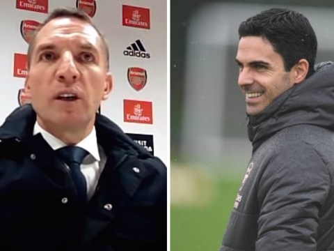 Brendan Rodgers hails Mikel Arteta's 'fantastic' work as Arsenal manager after Leicester's victory at the Emirates