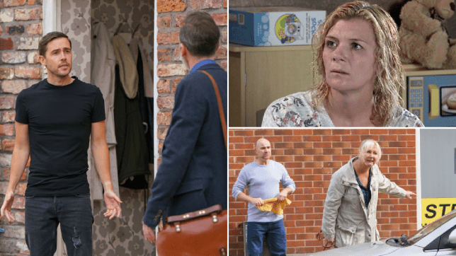 Todd, Billy, Leanne, Tim and Eileen in Coronation Street