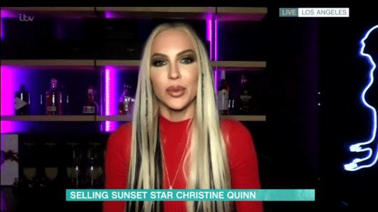 Christine quinn selling sunset