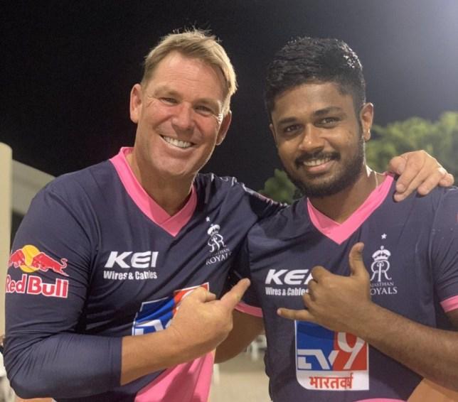 Shane Warne has talked up Rajasthan Royals' IPL chances