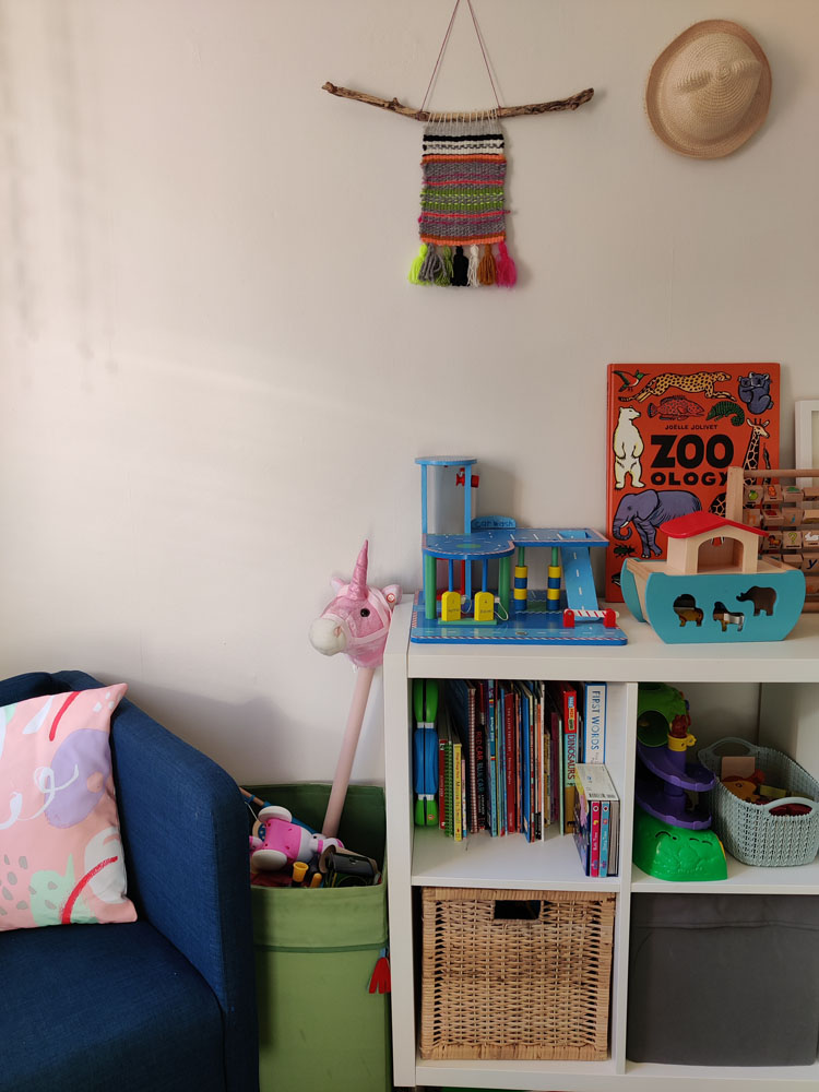 What I Rent: Megan, Falkirk - reading nook in child's bedroom