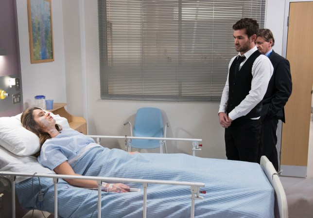 Scarlett and Ned in Neighbours