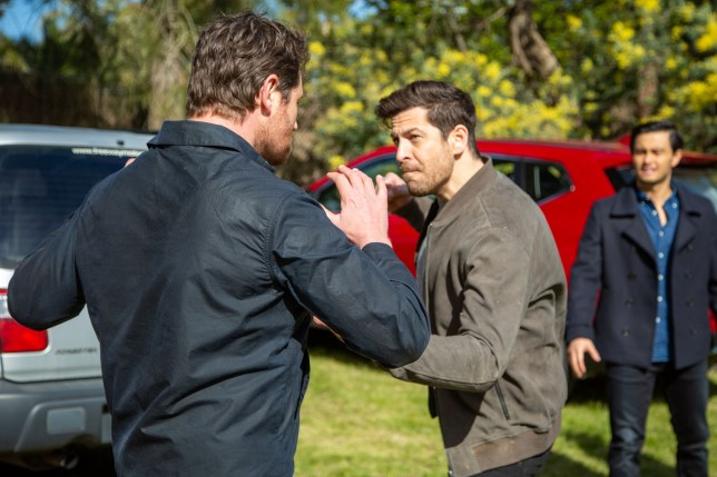 Shane and Pierce in Neighbours