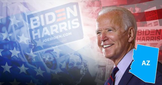 Joe Biden Arizona graphic