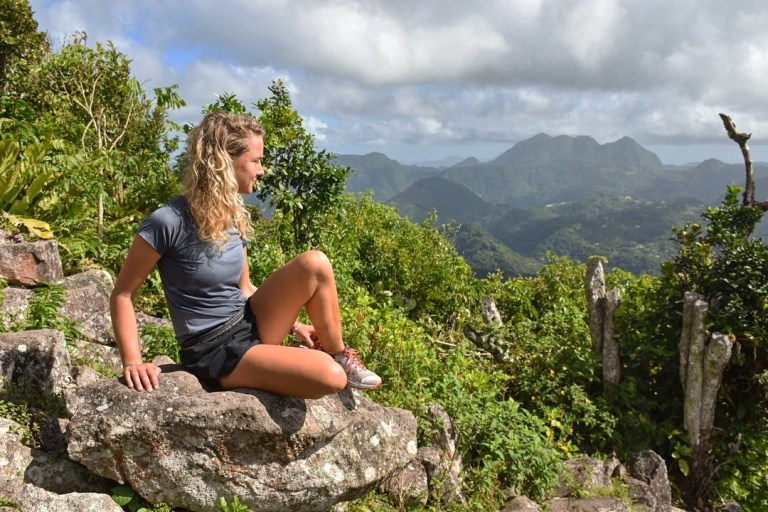 The view from the top of Gos Piton (Picture: Sadie Whitelocks)