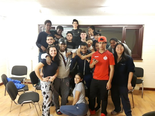 Co-op Members are helping local organisations like the Westbourne Park Family Centre where young people are learning to be role models for others
