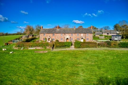 bramble cottage in Devon