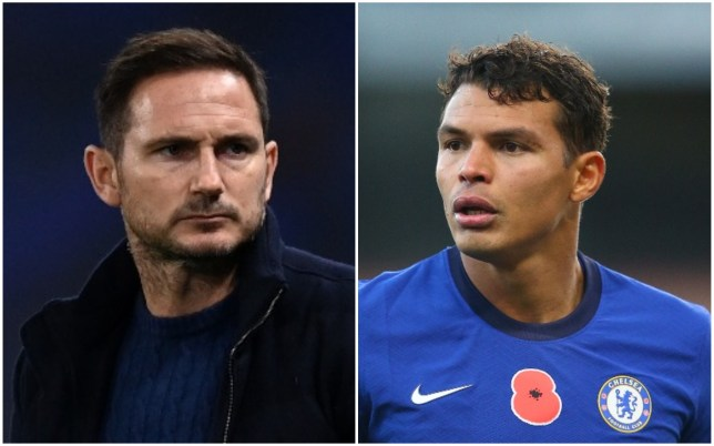 Frank Lampard was in touch with Thiago Silva in the build-up to his move to Chelsea